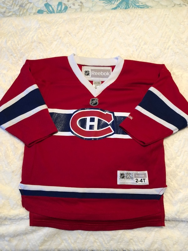 best website 00cc2 97c8a Child's Reebok Montreal Canadiens Jersey - Size 2-4T