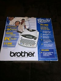 white and black Brother  label printer Gaithersburg, 20878