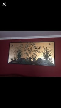Wall hanging - Hand Carved  Laurel
