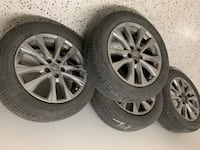 2016 new tires and rims for a Toyota Rav4 Toronto, M9P 3L5