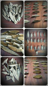 Very old period.Real Antique!..19 piece Private Collection!..