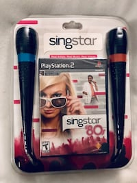 Singstar 80's Bundle.Playstationn 2  1216 mi