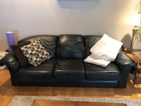 Black Leather Couch, Loveseat & Chair Vaughan, L4L 9K6
