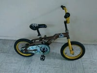 toddler's black and yellow bicycle Toronto, M4C 5L5