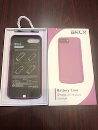 IPhone 6/7/8+ charging case - new in box - perfect for Christmas