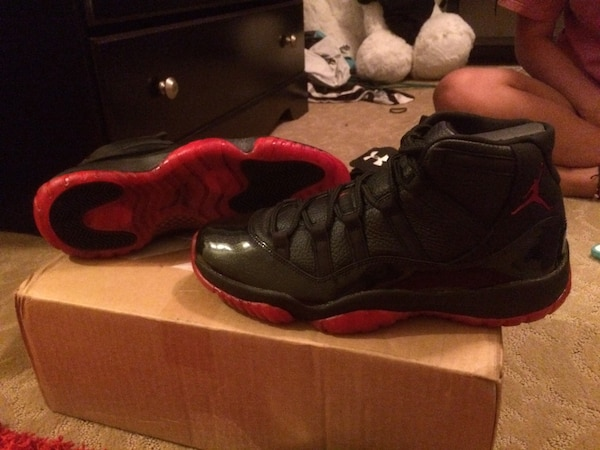best sneakers 47d8e 0974d Used Air Jordan 11 s 72-10 dirty bred customs. Never work, brand new. Size  11 for sale in Tuttle - letgo