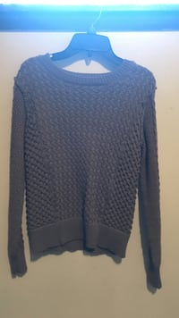 Brown knit sweater size S