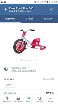 Flash rider 3607 Hyattsville, 20785