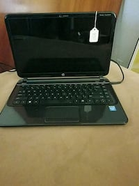 black HP laptop with black corded mouse San Jose, 95112
