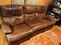 Brown Leather Couch Minneapolis, 55412