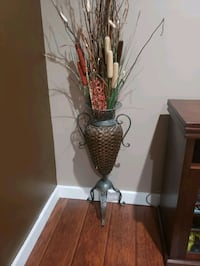 Beautiful brown color big  floor vase