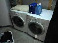 gray front-load clothes washer and dryer set Ottawa, K2W 1E2