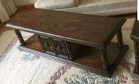 Hardwood Coffee Table and Side Table Newmarket, L3Y 1C9