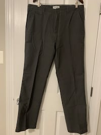 "New Men's Calvin Klein charcoal pants, 36"" waist x 34"" long Gaithersburg, 20877"