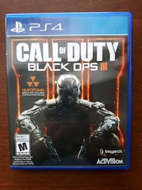 Jeu PS4 Call of Duty Black Ops 3 Playstation 4
