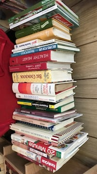 Bunch of cookbooks  2244 mi