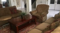 Sofas couch and Persian rug