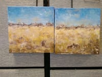 Original paintings set if 2 - Out in the Pasture Langley, V3A 1G2