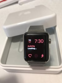 black Apple watch with black sports band Miami, 33136