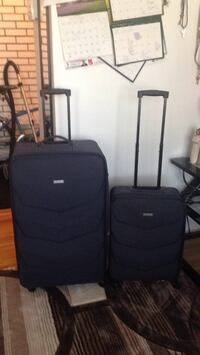 Black and gray luggage bag .2-for $40 Winnipeg, R2M 1J9