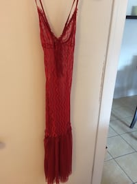 women's red sleeveless dress Montréal, H1S 2A9