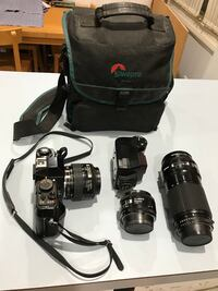 black Canon DSLR camera with bag Silver Spring, 20910