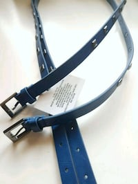 new with tag! double layer faux leather belt Richmond Hill, L4E