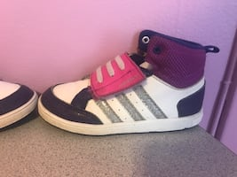 Adidas girls sneakers size 10