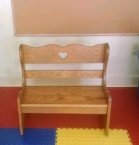 Child's/dolls solid oak country bench Shippensburg, 17257