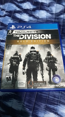 Sony PS4 the division gold edition case