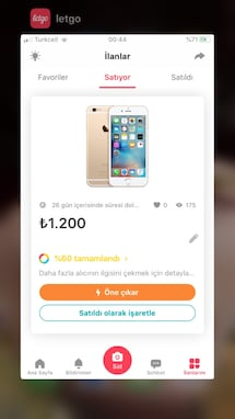 İPhone 6s silver
