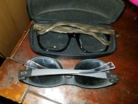 black and gray framed eyeglasses Quincy, 02169