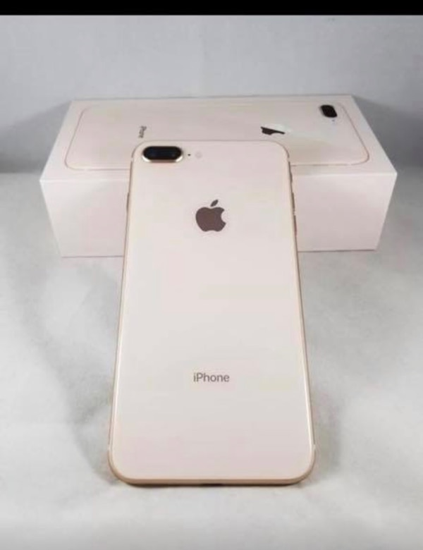 1000a0aa0053 Used iPhone 8 Plus-Unlocked-64GB-Rose Gold-Price is firm. No offers for  sale in Newark - letgo
