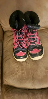 girl boot size 1