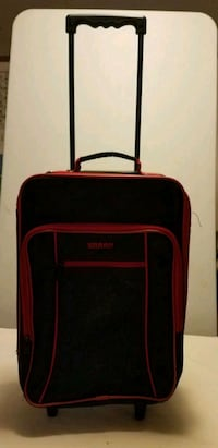 Black and red softside luggage St. Cloud, 56301