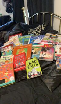 Kids books large lot Virginia Beach, 23452