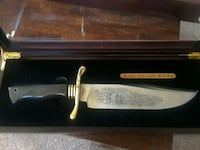 Alamo Commemorative Bowie Knife