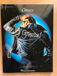 Brand new Grease music book: vocal selections and sheet music Plantation, 33317
