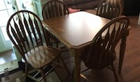 oak table with 4 chairs Bel Air, 21015