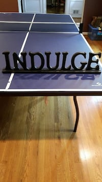 """Large """"Indulge"""" Shelf Sign from Target Great Falls, 22066"""