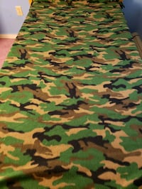 Camouflage homemade twin sizesoft and cozy blanket