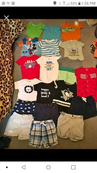 boys summer lot. 12 months