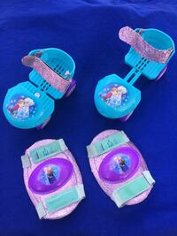 Girls shoe tight roller skates and pads- all in very good condition- Kalamazoo, 49006