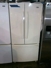 Whirpool french doors fridge in excellent conditio Baltimore, 21223