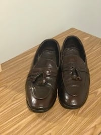 Leather Dark Brown Patterned Men's Loafers Shoes Fits 9 - 9.5 Richmond Hill, L4C 8P8