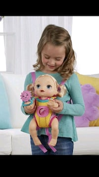 Baby Alive Doll with Carrier Talking Doll in Engli Ventura, 93003