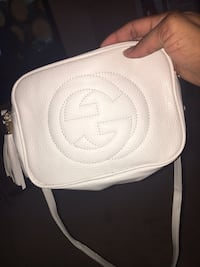 White GG handbag