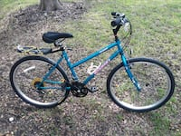blue and black hardtail mountain bike Austin, 78753