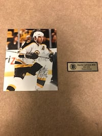 Martin Lapointe signed 8x10 with coa
