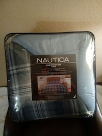 blue and grey nautica comforter kit twin Fort Worth, 76104